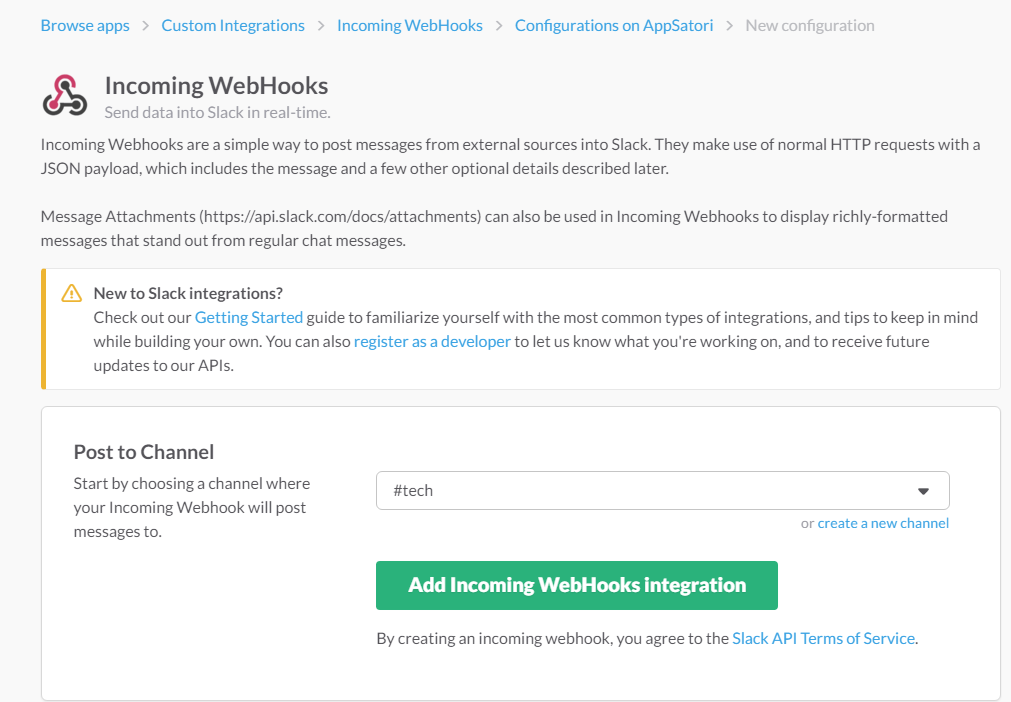 Integrate Google Apps and Slack with Google Apps Scripts (Incoming ...