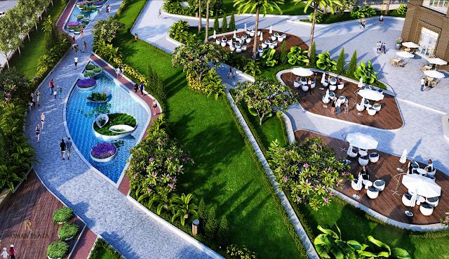 không gian sống xanh tại chung cư roman plaza
