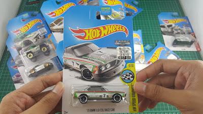 Hot Wheels Zamac Edition 73 BMW 3-0 CSL Race Car