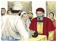 Luke 01:59-61 Birth of John the Baptist/Zechariah as priest