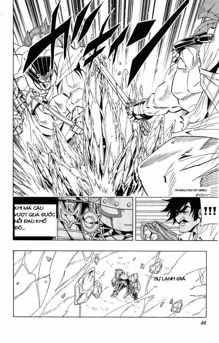 Shaman King [Vua pháp thuật] chap 226 trang 16