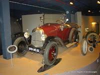 Citroën type A, musée de l'Aventure Michelin