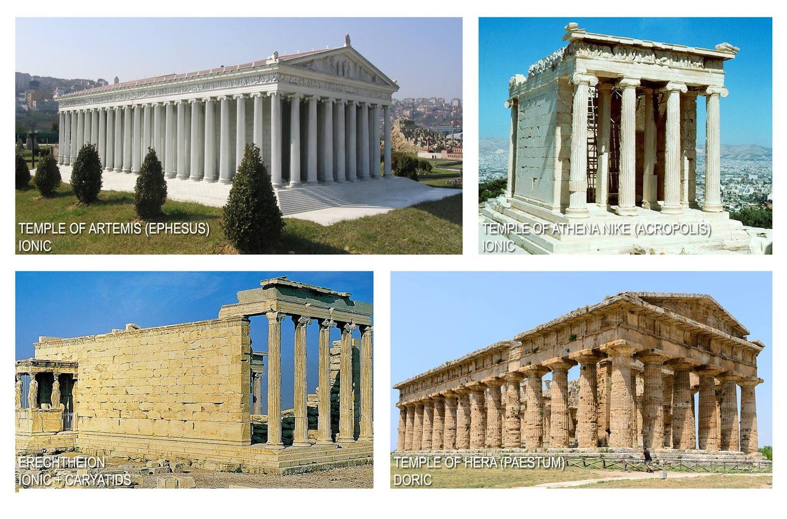 medium resolution of  visit ancient greece com temple of athena nike brothersoft com erechtheion norbert nagel via wikipedia temple of hera paestum