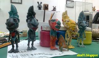 resultado del Taller de Art Toy