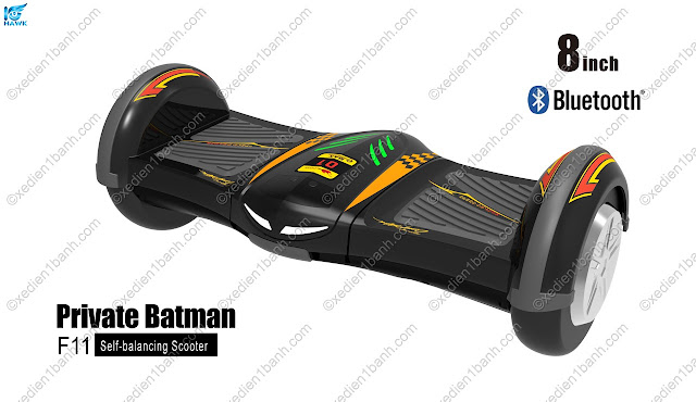 Siêu xe điện cân bằng batman mới 8 inch Hoverboard F11