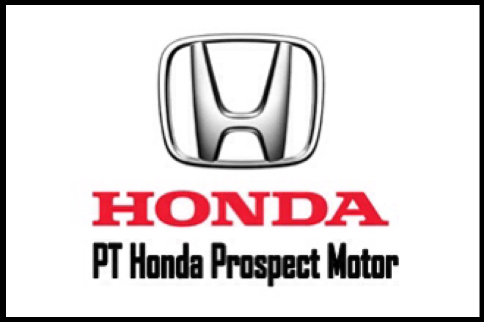 Lowongan Kerja Terbaru PT.Honda Prospect Motor