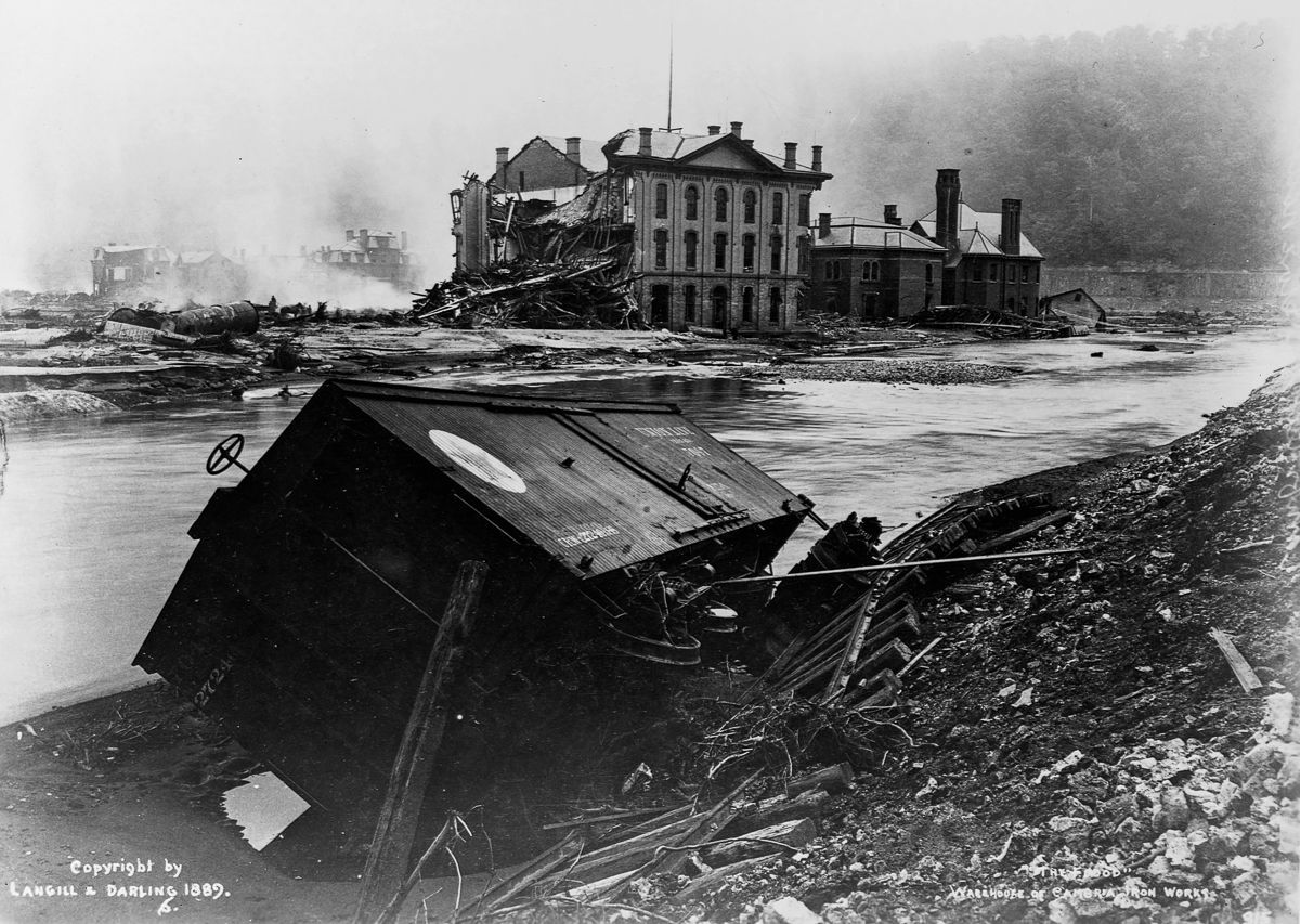 The Johnstown Flood: 27 Rare Photographs of the Great ...