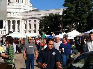 Madison, WI capital farmer's market