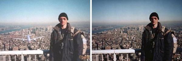 Foto Seorang Wisatawan Diambil Sesaat Sebelum 9/11