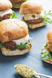 Healthy Turkey Burger Recipe with Italian Sausage