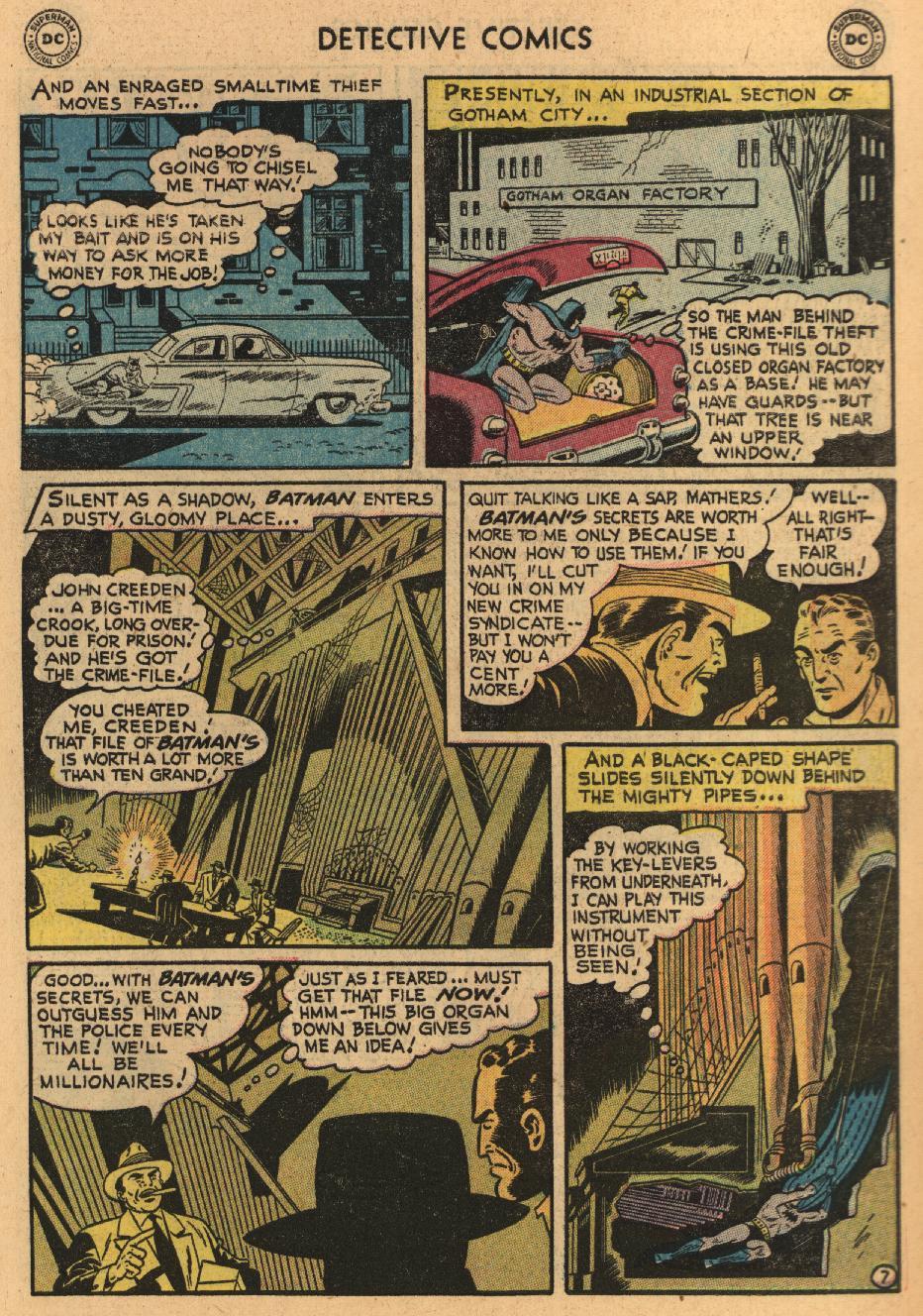 Read online Detective Comics (1937) comic -  Issue #229 - 9