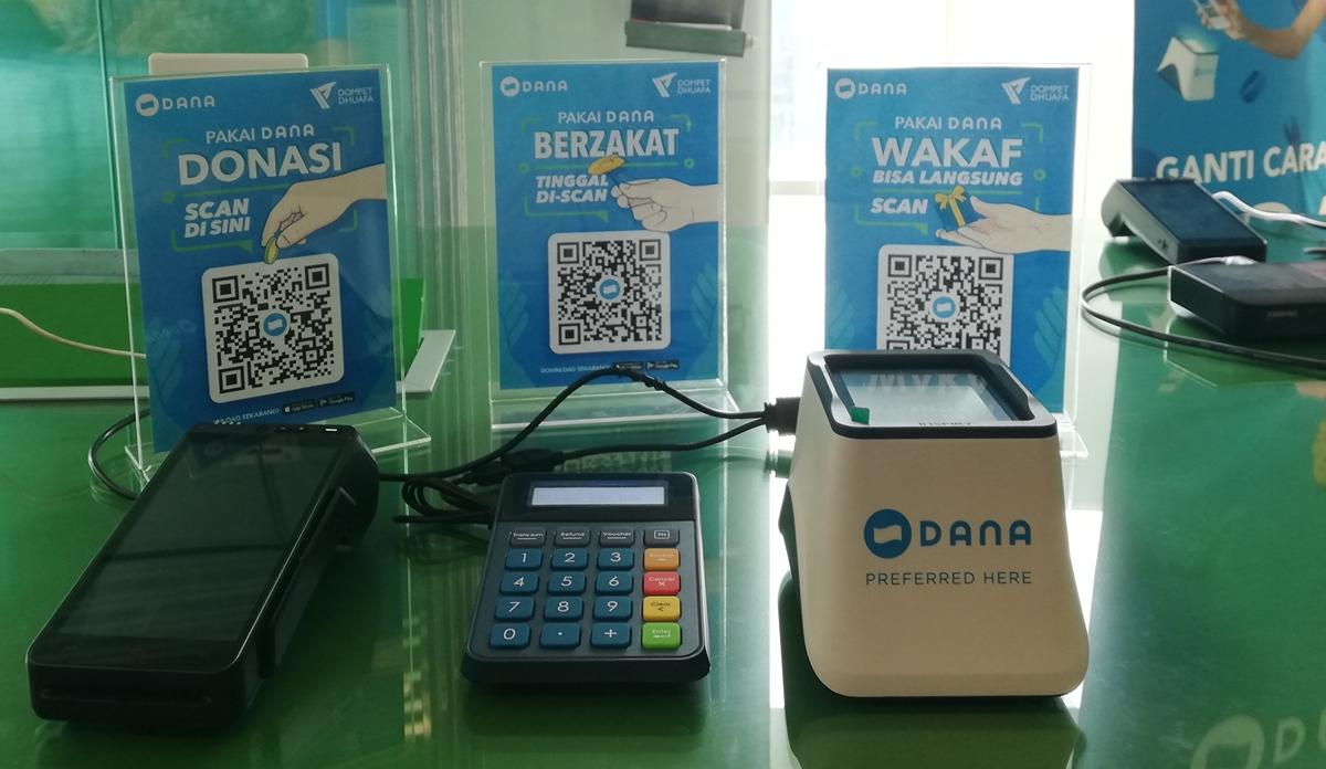 Donasi, Wakaf dan Zakat dengan Aplikasi Dana (Endah/Teknogav.com)