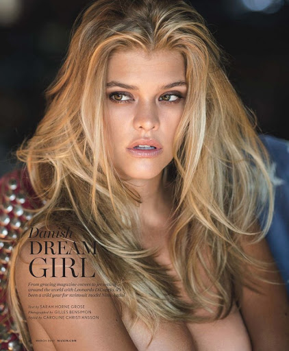 Hot model Nina Agdal topless photoshoot for Maxim Magazine March 2017
