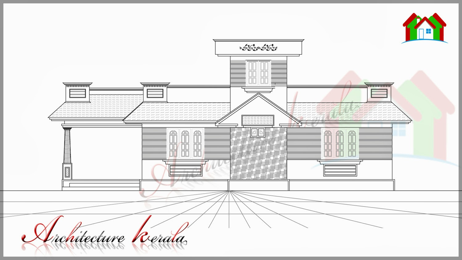 Floor Plan Elevation 800 Square Feet House