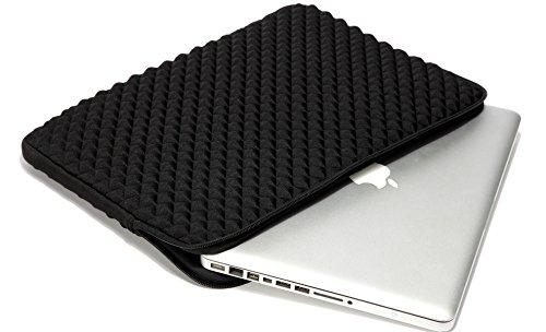 52c44113f218 Weierken Laptop Sleeve 13.3-14 inch Splash & Shock Resistant, Diamond Foam  Neoprene Waterproof ...