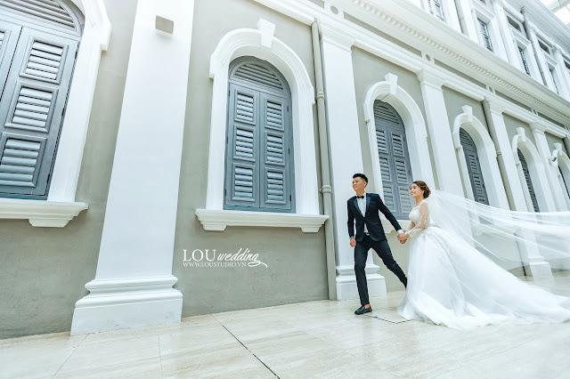 Singapore - nơi cảm xúc thăng hoa với bộ hình cưới