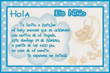 Tarjetas de baby shower para un ni o baby shower ideas - Ideas para baby shower de nino ...