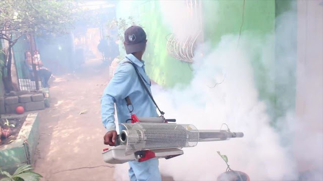 Campaña en Nicaragua para prevenir una epidemia de dengue