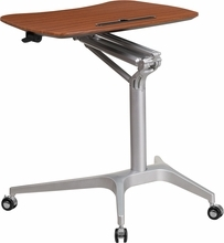 Mobile Sit To Stand Desk