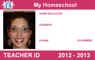 Download school teacher id card template free for Homeschool id template