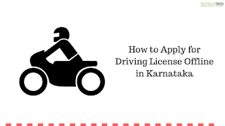 How to Apply for Driving License Offline in Karnataka