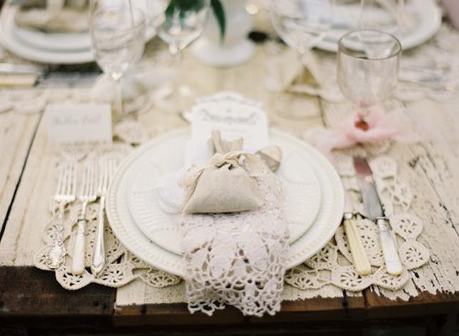 encaje bodas romanticas novias delicadas