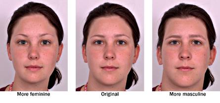 Fase perubahan bentuk tubuh ke arah laki-laki untuk wanita yang tinggi kadar testoteronnya/ hiperandrogen