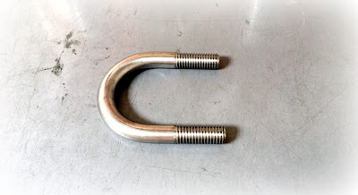 Specialty Stainless Steel U-bolts - 1/2 X 8 U Bolts To Print In 304 Stainless Steel Material
