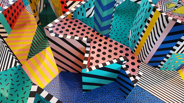 bold patterns and colour playful maze