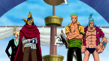 One Piece Episódio 307