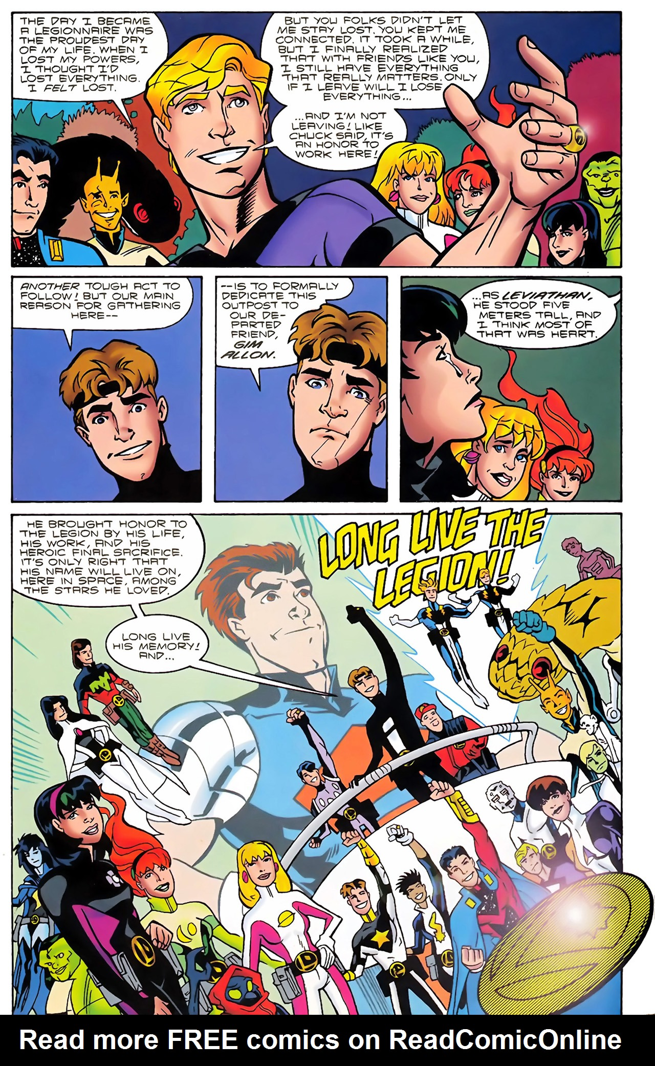 Legion of Super-Heroes (1989) 100 Page 61