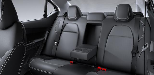 टाटा टिगोर इंटीरियर seats