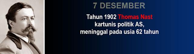 Hari kematian Thomas Nast