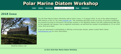 http://polarmarinediatomworkshop.org/2018Iowa.html