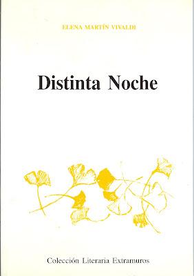Distinta noche, de Elena Martín Vivaldi