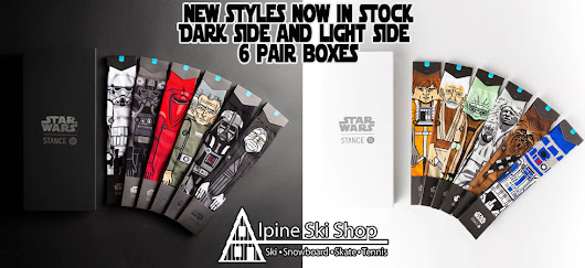 Stance X Star Wars Collab socks are back!
