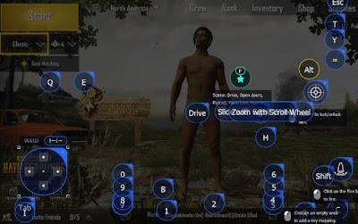Pubg emulator Controls