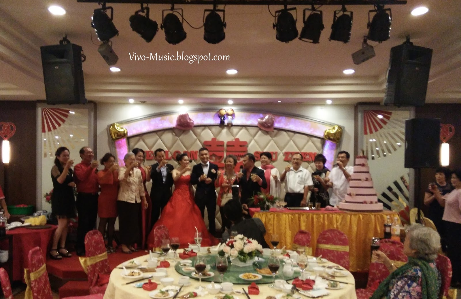 Vivo music live bandkl its another beautiful night thankyou so much to wei loon shu zhen for having us on your big day it is our pleasure to be a part of it junglespirit Images