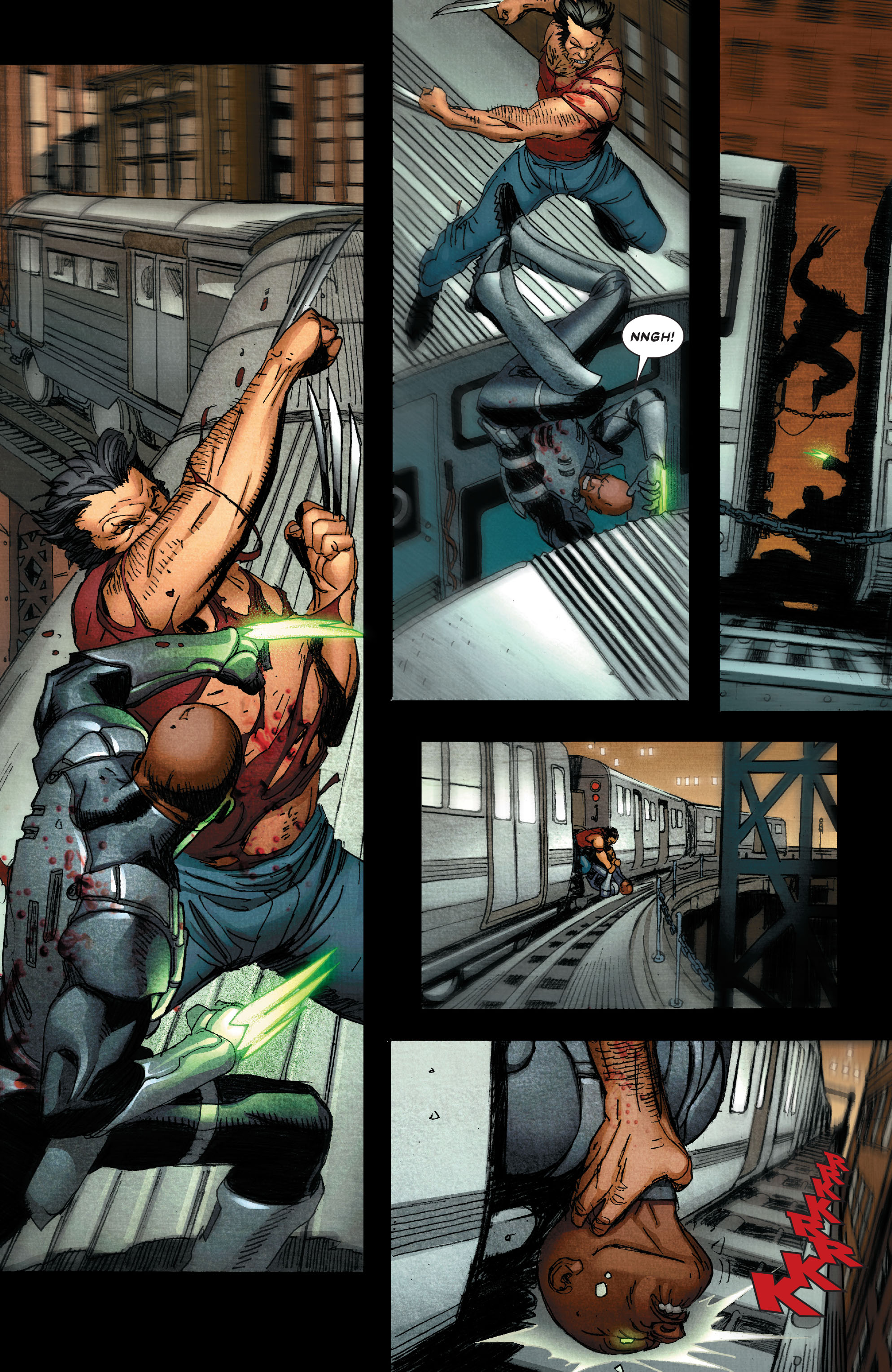 Read online Wolverine: Weapon X comic -  Issue #4 - 14