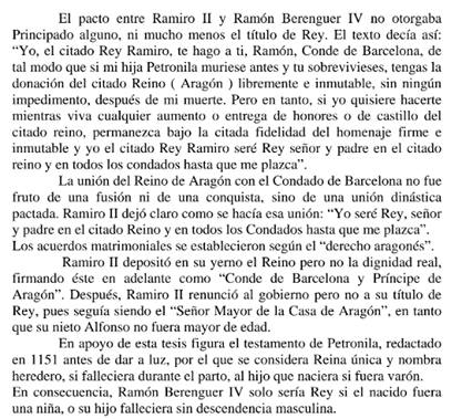 """¿Te encuentras a catalanista diciendo que Ramón Berenguer IV fue rey y que él como sus sucesores eran de una supuesta """"Casa Real de Barcelona""""? Dile que lea esto y que deje de hacerse el erudito."""