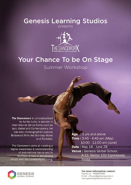 Danceworx Summer Workshop in N oida