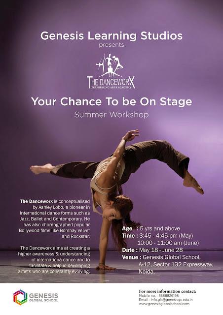 Danceworx Summer Workshop in N oida