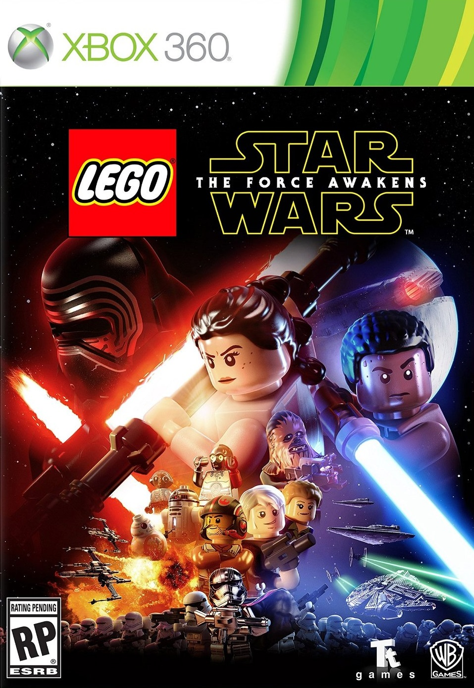 LEGO STAR WARS The Force Awakens XBOX 360 ESPAÑOL