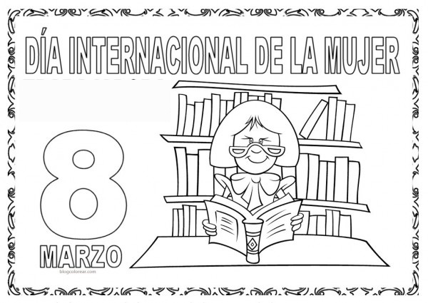 Andaray Colorea Marzo 2017 Día Internacional De La Mujer