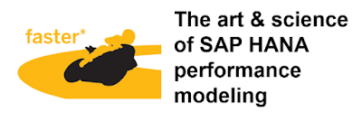 SAP HANA Art, SAP HANA Performance Modeling
