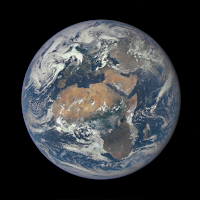 Africa and Europe seen by DSCOVR Observatory