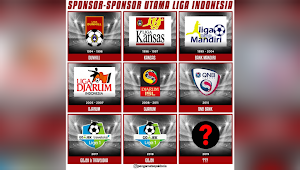 Daftar Sponsor Utama Liga Indonesia: Liga 1 2019 Masih Belum Pastikan Sponsor Utama
