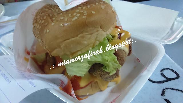 dagang avenue, kuala lumpur, taman dagang, burger bakar abang burn, burger sedap, burger best, jalan-jalan cari makan, food court