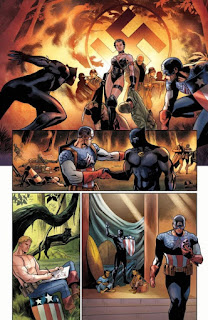 "Adelanto del primer número de ""Rise of the Black Panther"""
