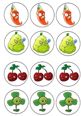 Plants vs Zombies birthday party printables